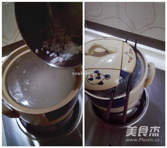 皮蛋腊肠粥的家常做法