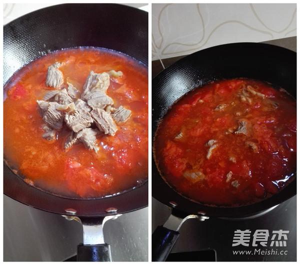 西红柿炖牛腩怎么煮