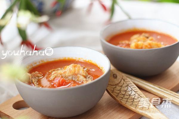 西红柿炖牛腩成品图