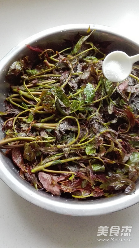 腌香椿芽的家常做法