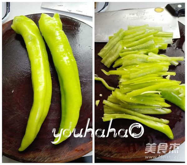 尖椒炒墨鱼怎么吃