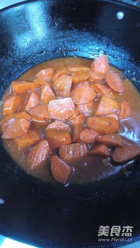 酱烧胡萝卜怎么做
