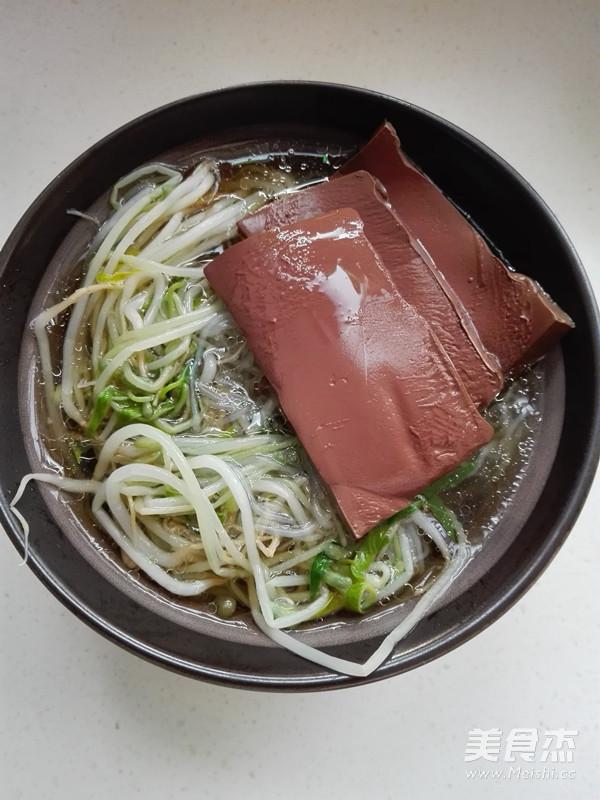 南京鸭血粉丝汤怎么煮