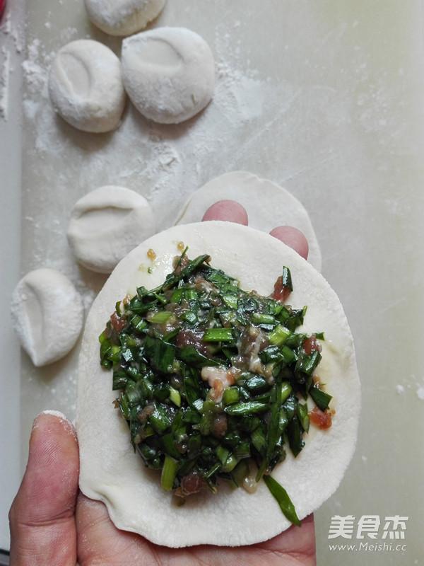烤韭菜包子怎么做