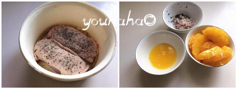 橙香鸭肉的做法图解