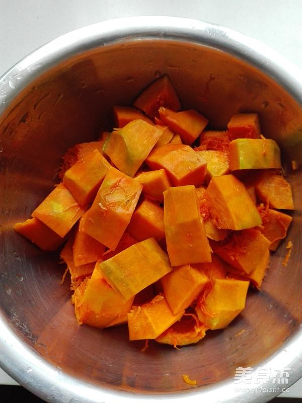 咖喱南瓜的做法图解