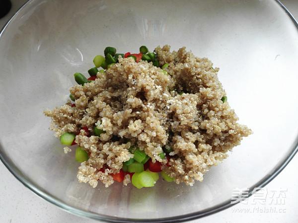 藜麦蔬菜沙拉怎么吃