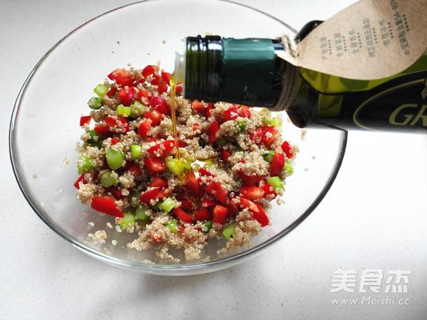 藜麦蔬菜沙拉怎么做