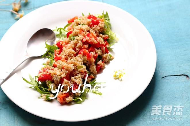藜麦蔬菜沙拉怎么炒