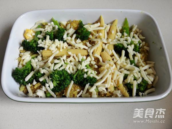 咖喱花菜焗饭怎么炖