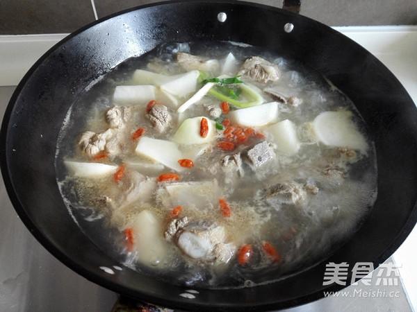 白萝卜排骨汤怎么炒