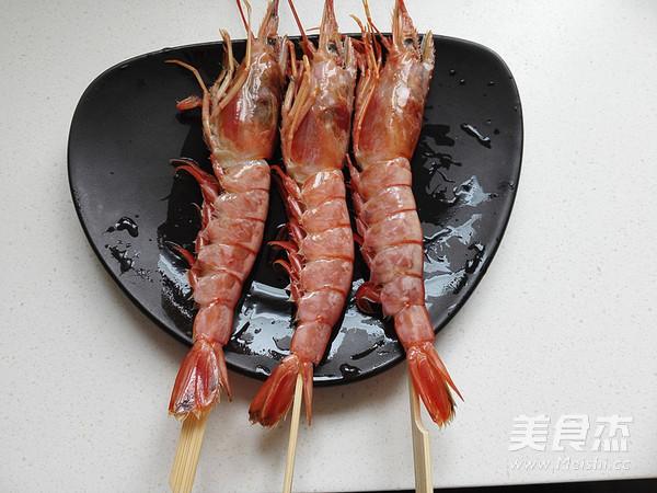 小葱鸡蛋煎虾的做法图解
