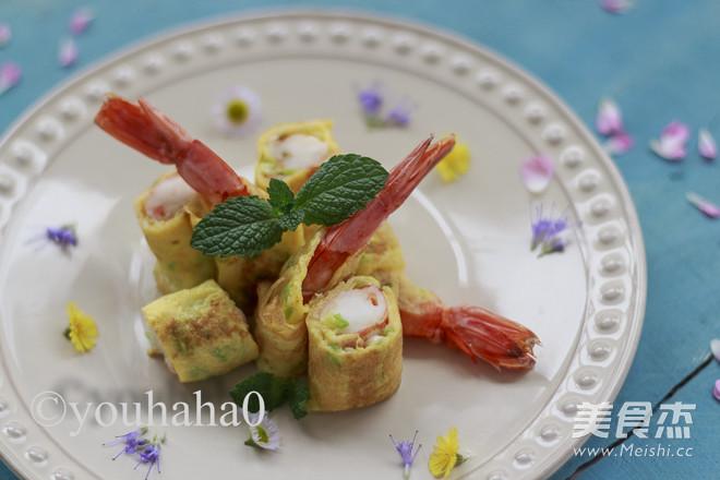 小葱鸡蛋煎虾怎样做