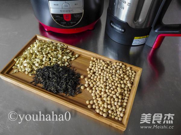 茉莉绿茶豆浆的做法大全