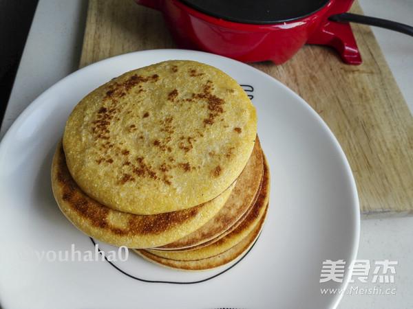 奶香玉米饼怎么煮