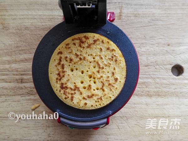 奶香玉米饼怎么做