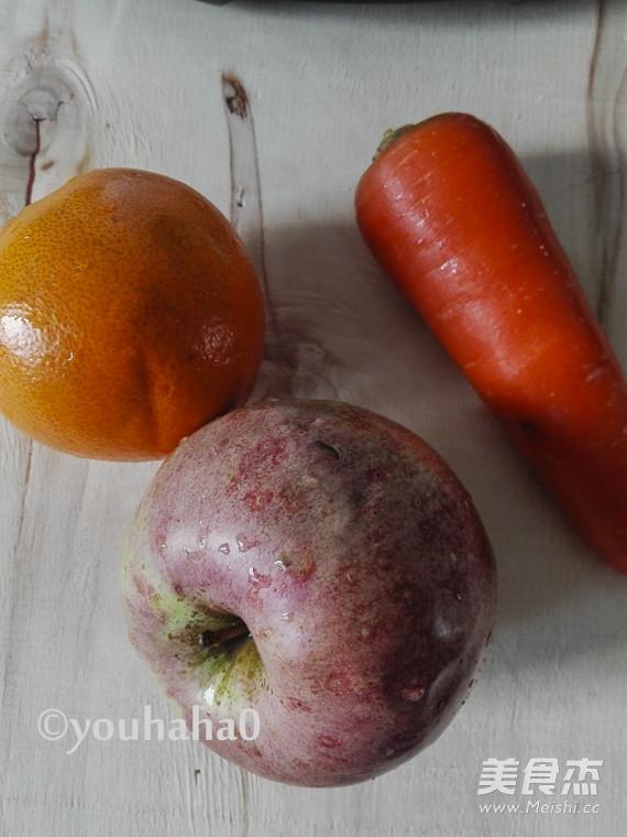 胡萝卜苹果橙汁的做法大全