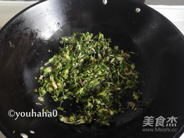 荠菜疙瘩汤的家常做法