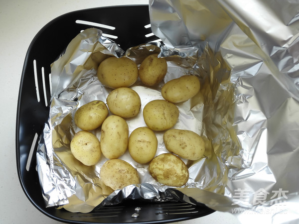 烤香菇小土豆的做法图解