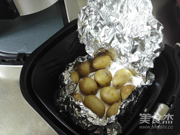 烤香菇小土豆怎么吃