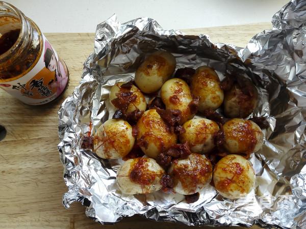 烤香菇小土豆怎么炒