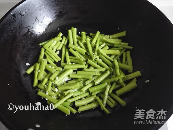 蒜蓉空心菜梗怎么吃