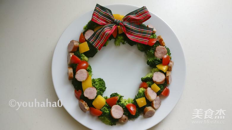 圣诞花环沙拉怎么煮