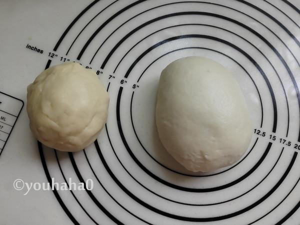 麻薯豆沙肉松蛋黄酥的家常做法