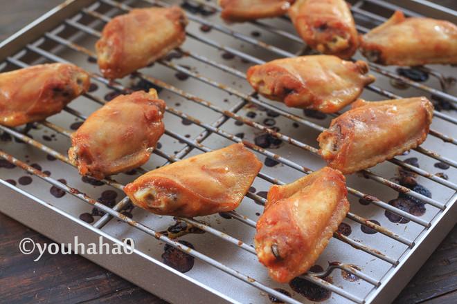香烤鸡翅中怎么做