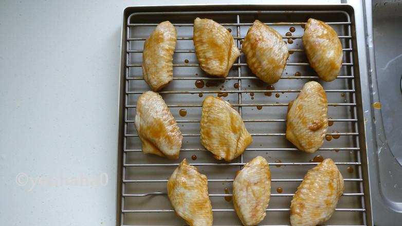 香烤鸡翅中的做法图解