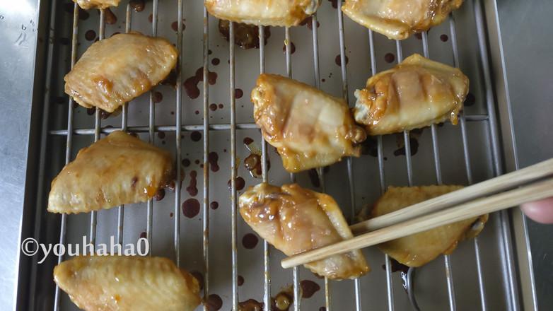 香烤鸡翅中的简单做法