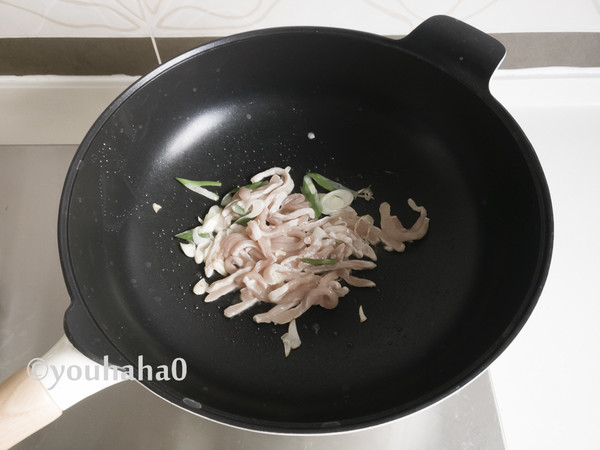 茶笋炒肉丝怎么吃