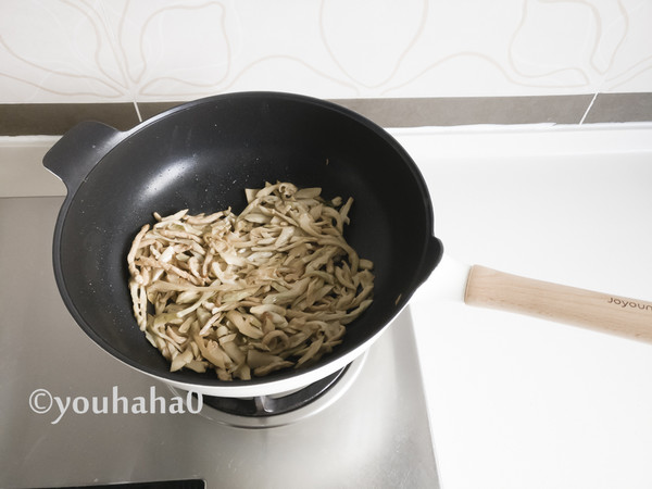 茶笋炒肉丝怎么煮