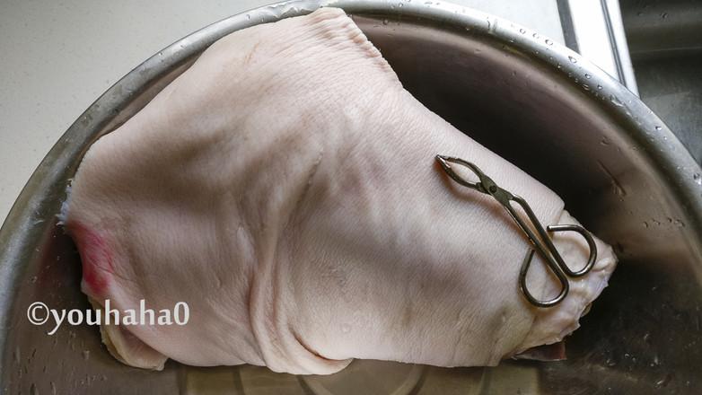 东坡发财肘子的做法图解