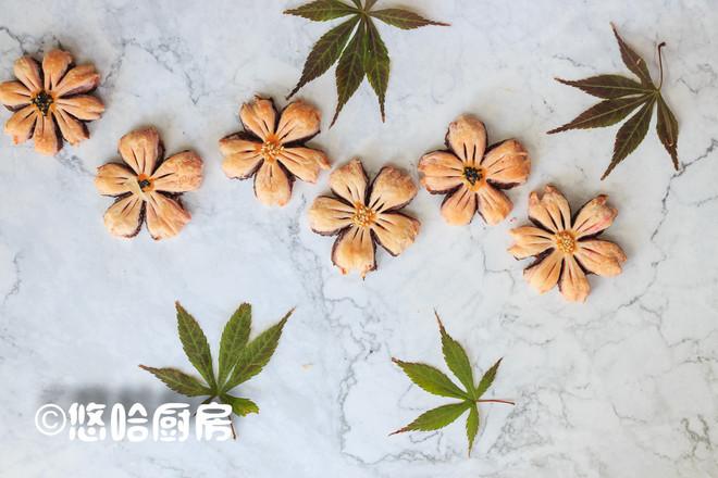 桃花酥成品图