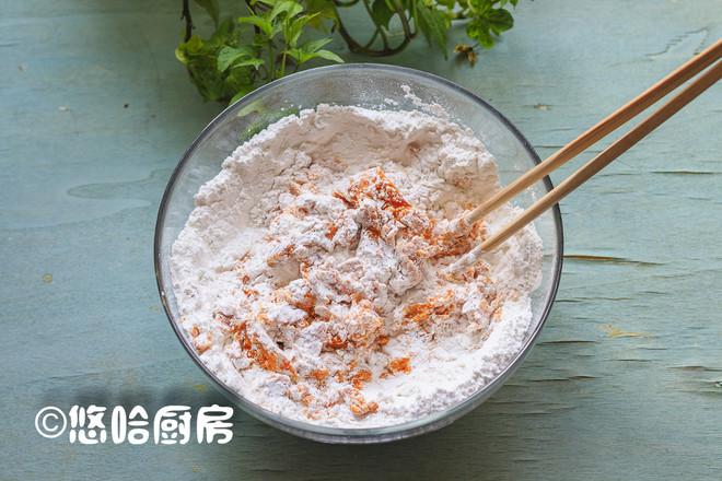 南瓜糯米饼的做法图解