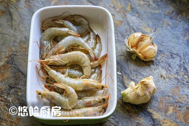 烤蒜蓉开背虾的做法大全