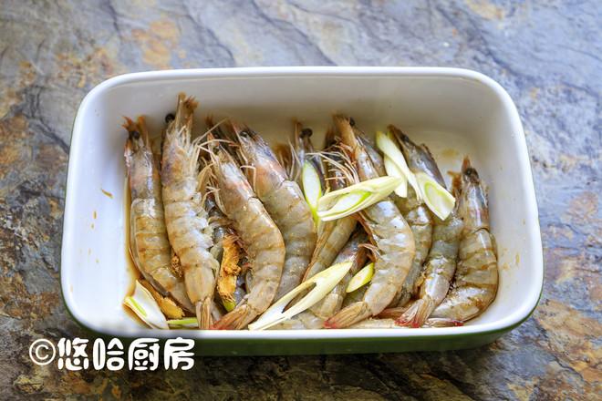 烤蒜蓉开背虾的家常做法