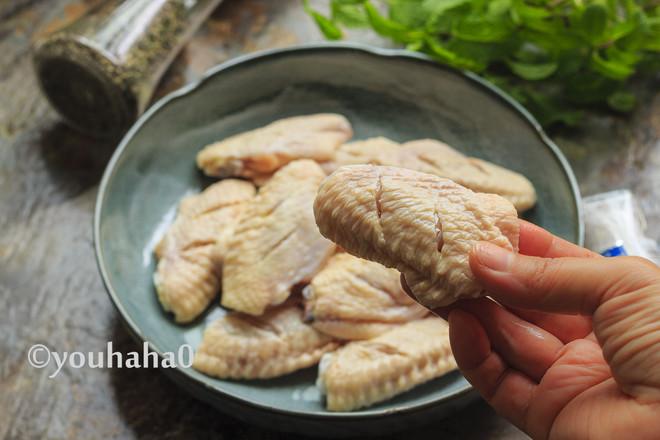 盐煎鸡翅中的做法大全