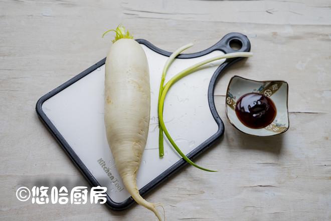 蚝油白萝卜的做法大全