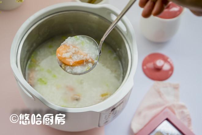 鲜虾干贝粥怎么做