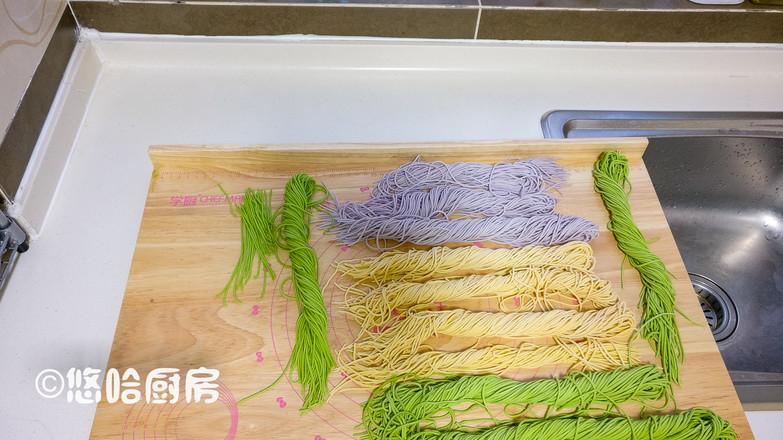 彩色面条怎么煮