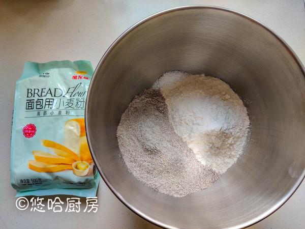 黑麦乡村面包的做法图解