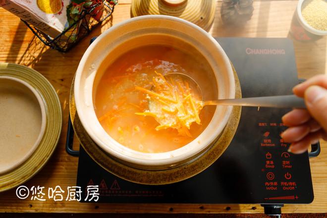 红薯小米粥怎么吃