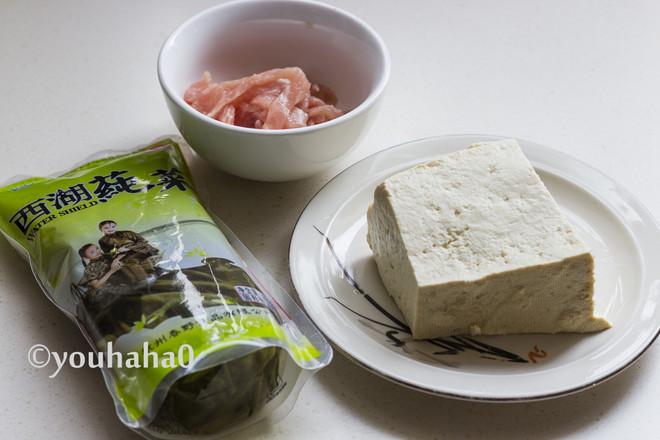 莼菜豆腐汤的做法大全