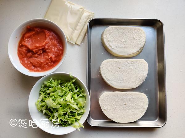 芝士烤馒头片的做法大全