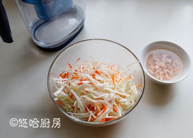 凉拌金钩白菜的步骤