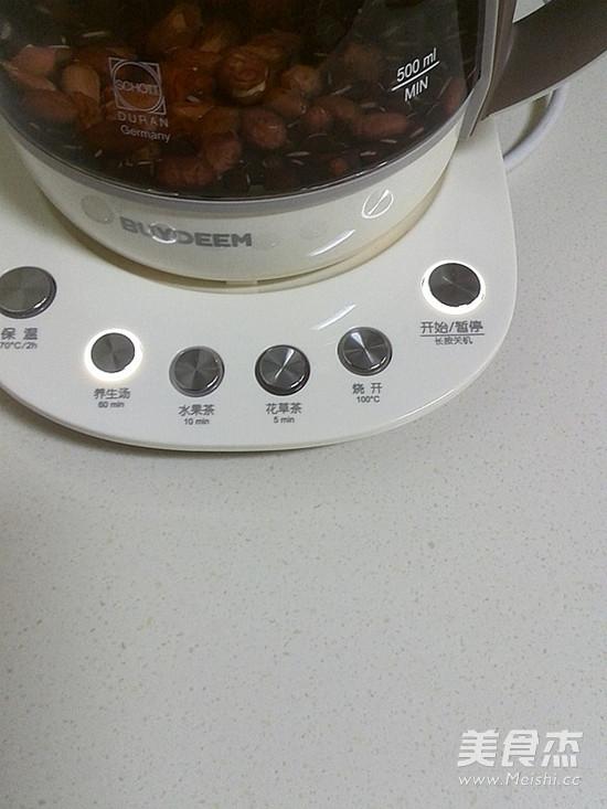 补气血の五红汤的简单做法