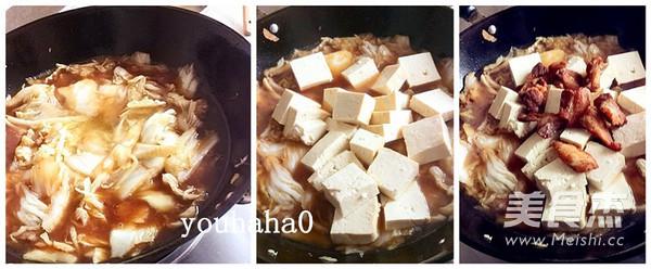 脂渣炖白菜豆腐怎么做