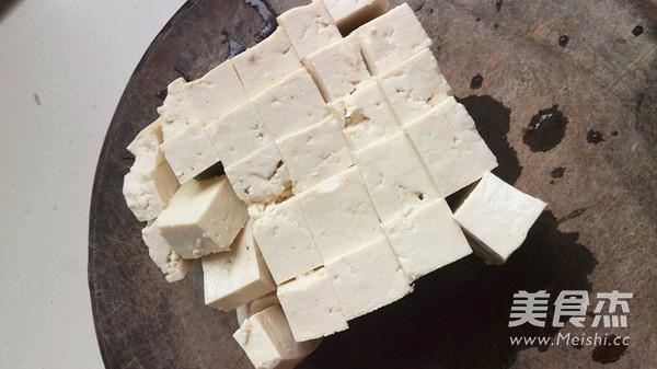 脂渣炖白菜豆腐的做法图解